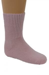Kinder Baby-Alpaka Socken in rosa